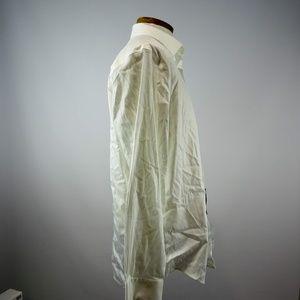 Alfani Shirts - Alfani Athletic Fit Men's White Long Sleeve L NWT